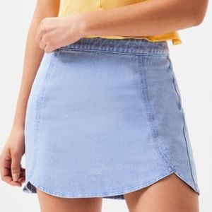PacSun Tulip Denim Skirt
